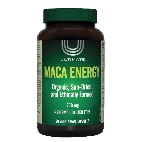Ultimate Maca Energy 750mg 90 vegetarian capsules. NEW LOOK