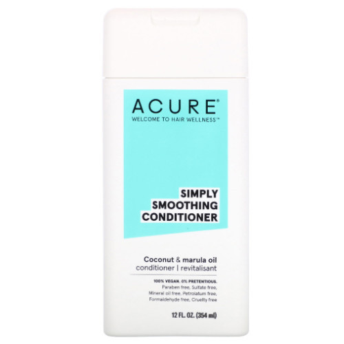 Acure Simply Smoothing Coconut & Marula Conditioner 354 ml