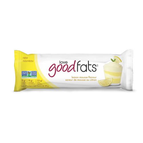 Love Good Fats Lemon Mousse Snack Bar Canada