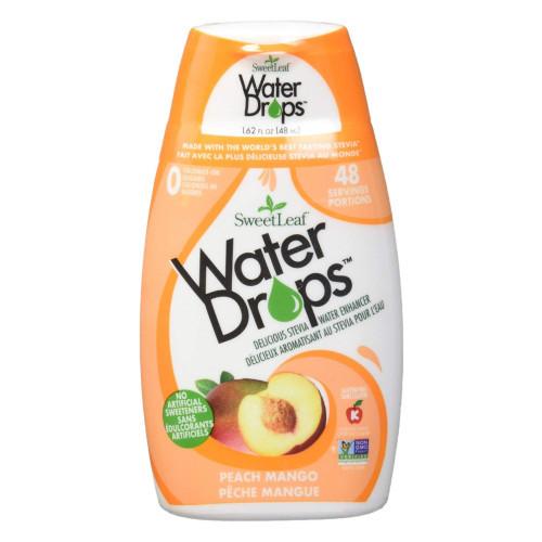SweetLeaf Peach Mango Water Drops hydration enhancer flavour water Canada