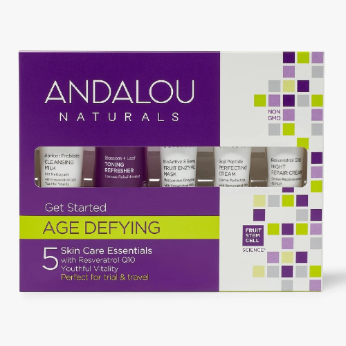 Andalou Naturals Get Started Age Defying Giftset, youthful vitality.