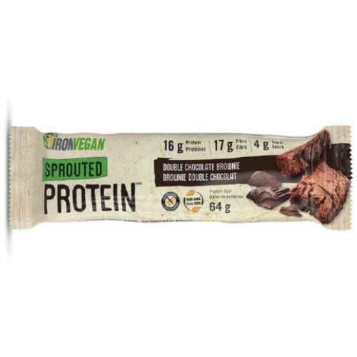 Iron Vegan Sprouted Protein bar 62 grams
