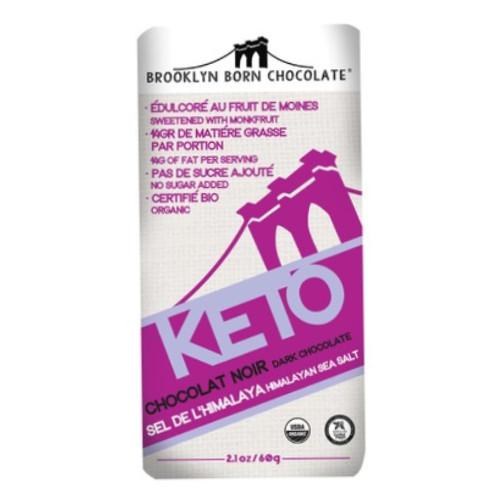 Keto Himalayan Sea Salt Dark Chocolate bar