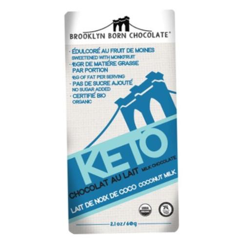 Brooklyn Born Keto Coconut Milk Chocolate bar
