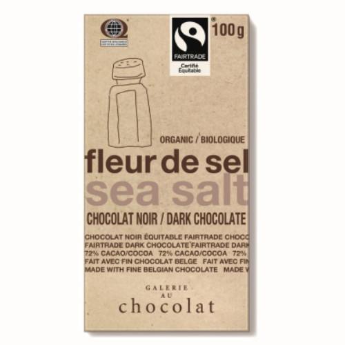 Galerie Au Chocolat Sea Salt Dark Chocolate 100 grams