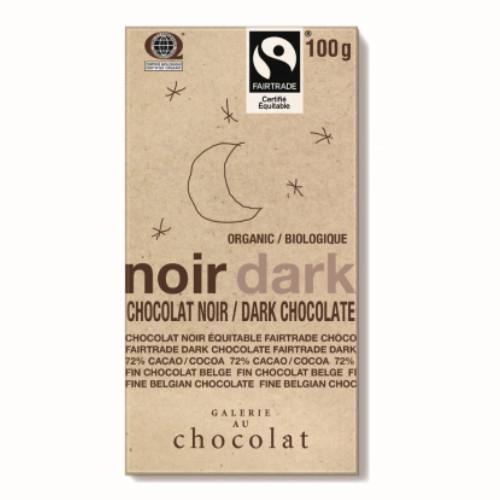 Galerie Au Chocolat Organic Dark Chocolate 100 grams