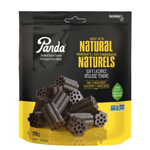 Panda Natural Soft Black Licorice Candy