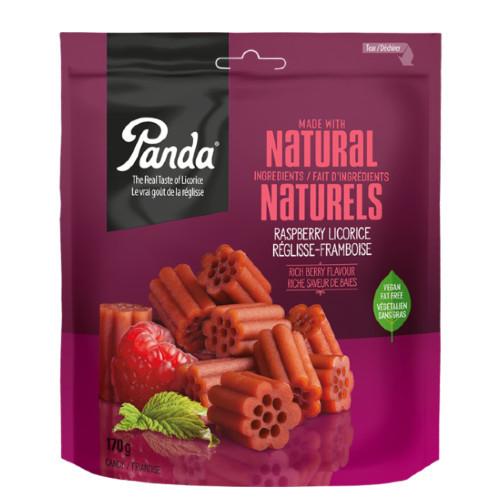 Panda Natural Soft Raspberry Licorice Candy