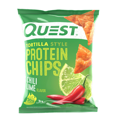 QUEST Chili Lime Tortilla Style Protein Chips
