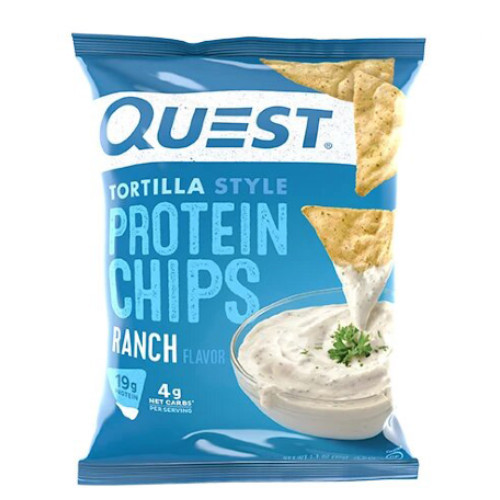 QUEST Ranch Tortilla Style Protein Chips