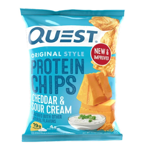 QUEST Cheddar & Sour Cream Original Style Protein Chips