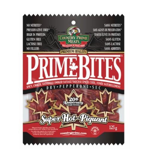 Super Hot Prime Bites Dry Pepperoni 150 grams