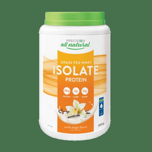 Precision Whey Isolate Grass Fed  Whey Protein Vanilla Delight 850 grams