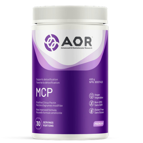 AOR Modified Citrus Pectin is a powdered supplement that supports detoxification