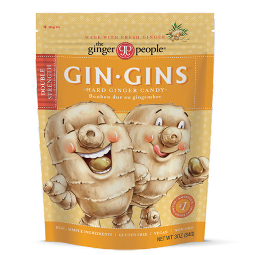GIN GINS Double Strength Hard Candies