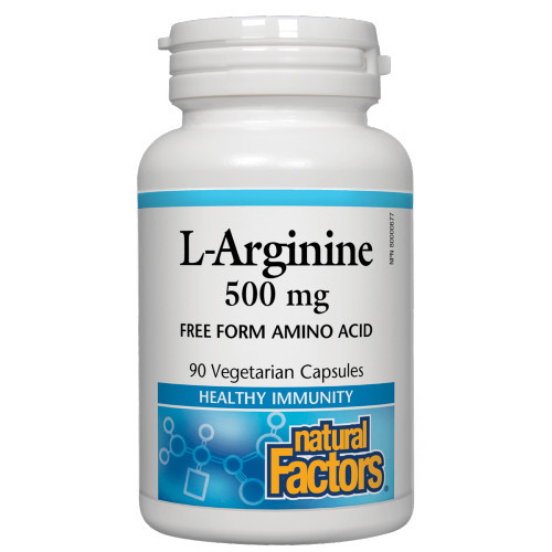 Natural Factors L-Arginine Amino Acid provides a healthy boost