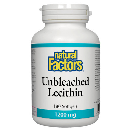 Natural Factors Unbleached Lecithin is a high-quality blend made from 100% soy