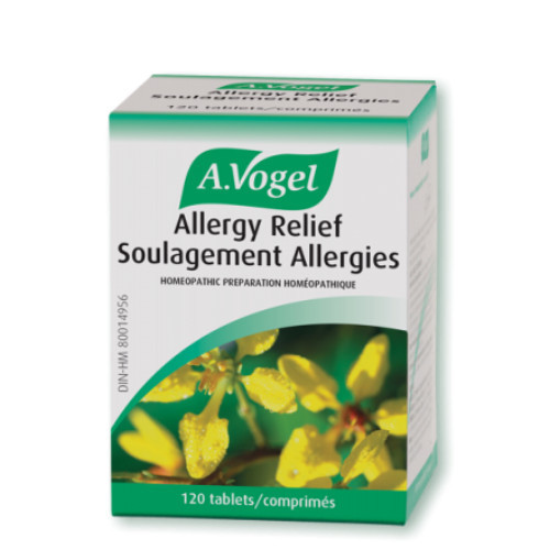 A. Vogel Allergy Relief Soulagement Allergies 120 Tablets