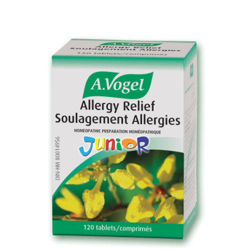 A. Vogel Junior Allergy Relief Soulagement Allergies 120 Tablets