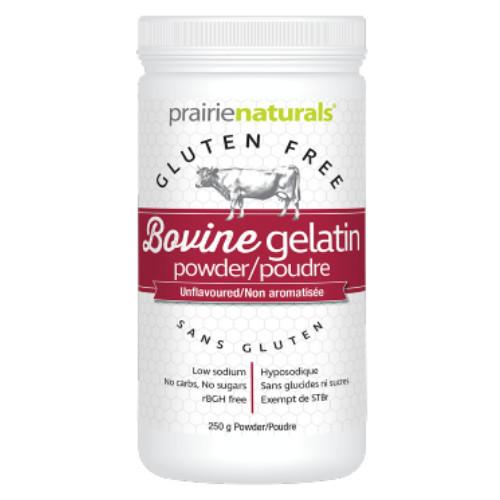 Prairie Naturals Bovin Gelatin Powder 250 grams
