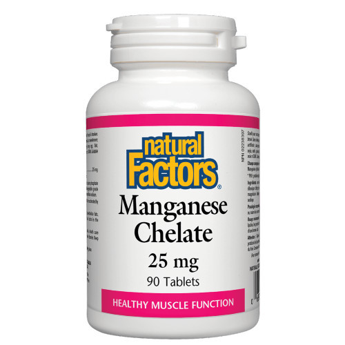 Natural Factors Magnesium Chelate 90 caps Canada