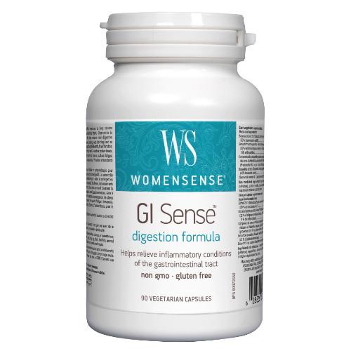 WomenSense GI Sense Digestion Formula is a herbal formula.