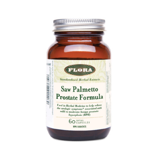 Flora Saw Palmetto Prostate Formula 60 caps
