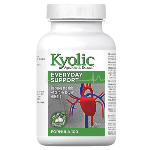Kyolic Aged Garlic Extract Everyday Support Formula 100 360 caps
