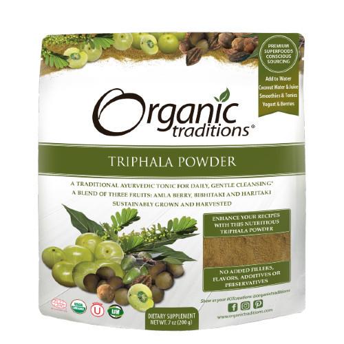 Organic Traditions Triphala Powder 200 grams