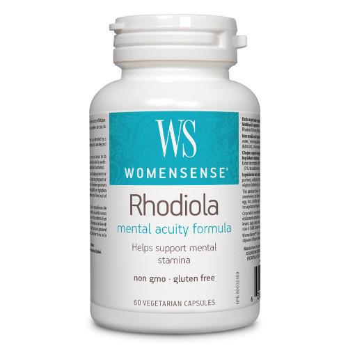 WomenSense Rhodiola Mental Acuity Formula 60 caps Canada