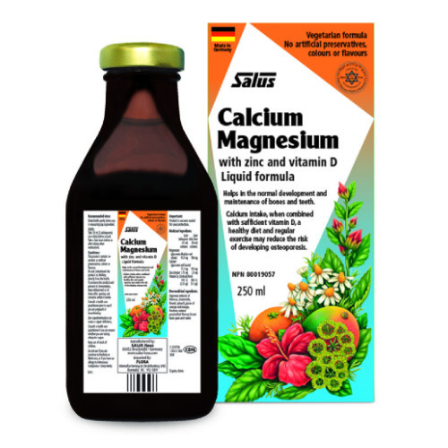 Salus Calcium Magnesium With Zinc and Vitamin D 250  ml