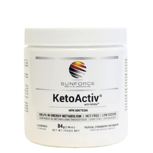 Sunforce KetoActiv with Ketoba Tropical Strawberry Watermelon Flavour 75 grams