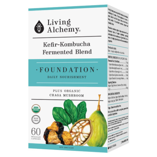 Living Alchemy Foundation Daily Fermented Superfood 60 capsules