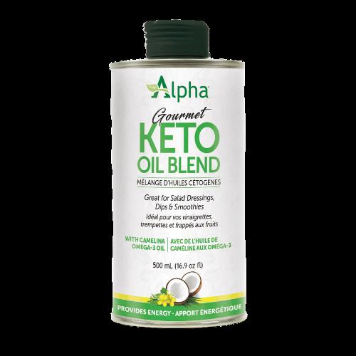 Alpha Gourmet KETO Oil Blend 500 ml Canada