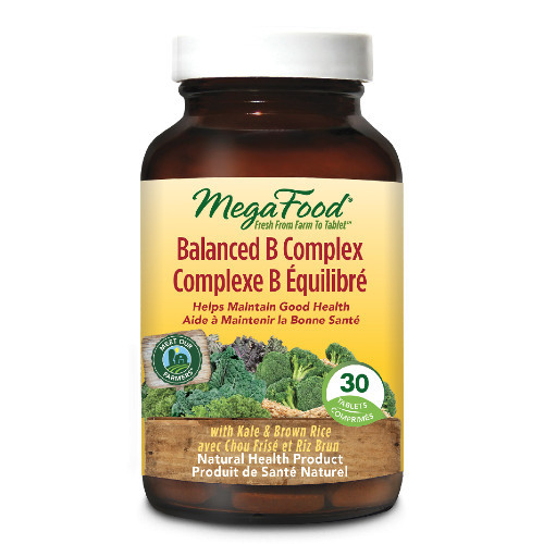 MegaFood Balanced B Complex is an antioxidant source that brings daily benefits and nutrients into your body.