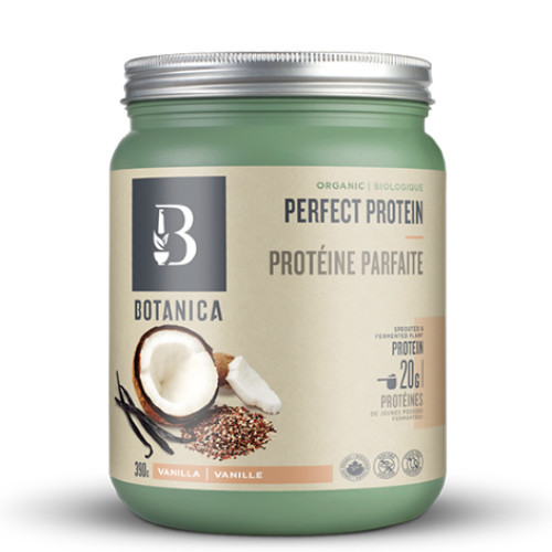 Botanica Perfect Protein is an easy to digest plant based protein blend, vanilla flavour.
