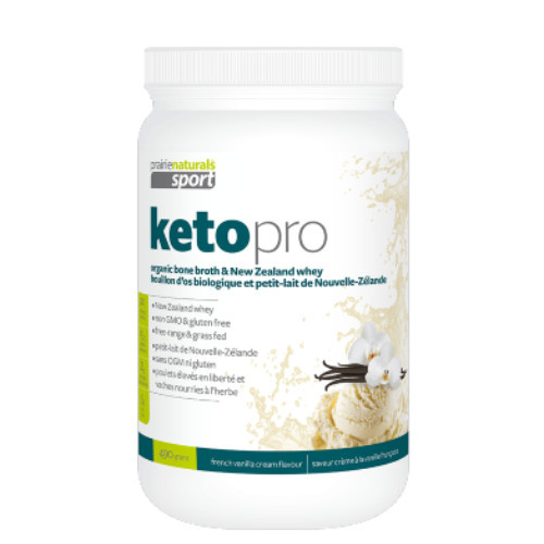 Prairie Naturals Sport Keto Pro French Vanilla Cream 490 grams