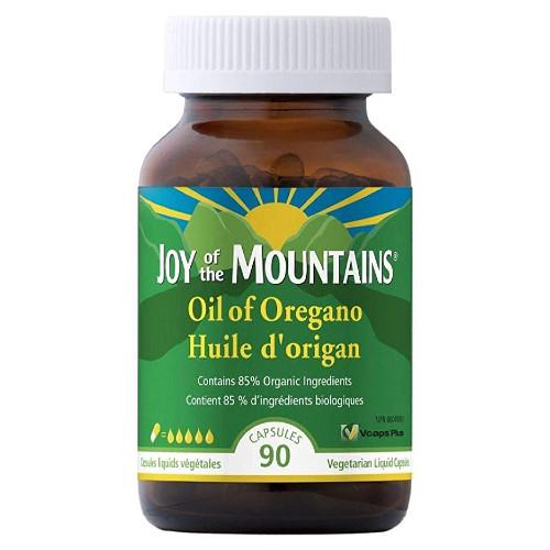 Joy of the Mountains Liquid Oil of Oregano 90 caps
