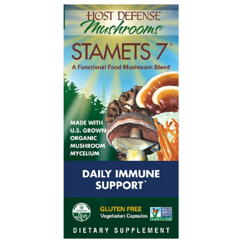 Host Defense Mushrooms Staments 7 Daily Immune Support 120vcaps Canada