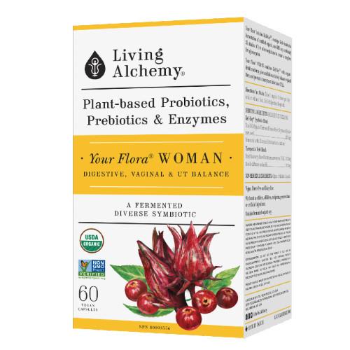 Living Alchemy Your Flora Woman 60 caps