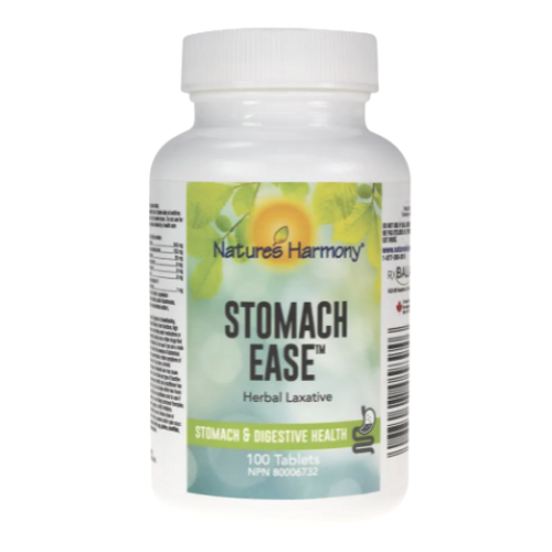 Nature's Harmony Stomach Ease Herbal Laxative 100 tablets
