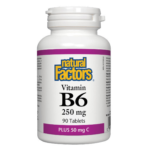 Natural Factors Vitamin B6 90 tabs Canada