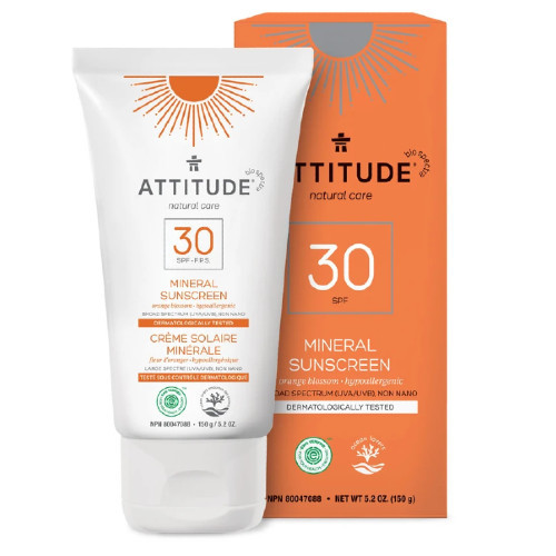 Attitude Natural Care 30 SPF Mineral, Orange Blossom