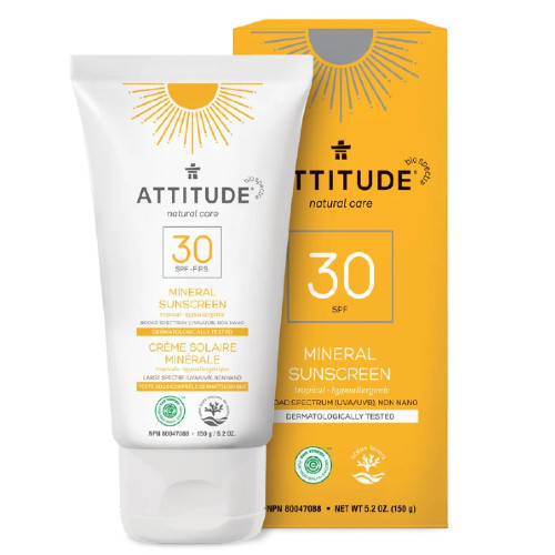 Attitude Natural Care 30 SPF Mineral, Tropical