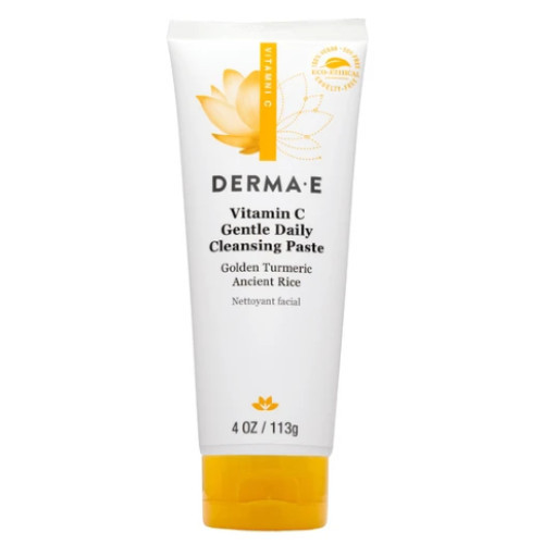 Derma E Vitamin C Gentle Daily Cleansing Paste with Golden Turmeric & Ancient Rice
