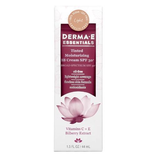 Derma E Essentials Tinted Moisturizer BB Cream, SPF 30+ Sunscreen