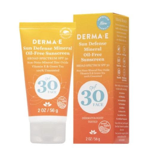 Derma E Natural Mineral Oil-Free Sunscreen 56 grams