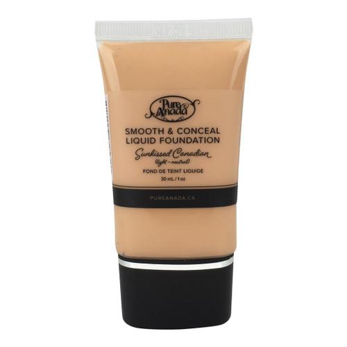 Pure Anada Smooth & Conceal Liquid Foundation Sunkissed Canadian