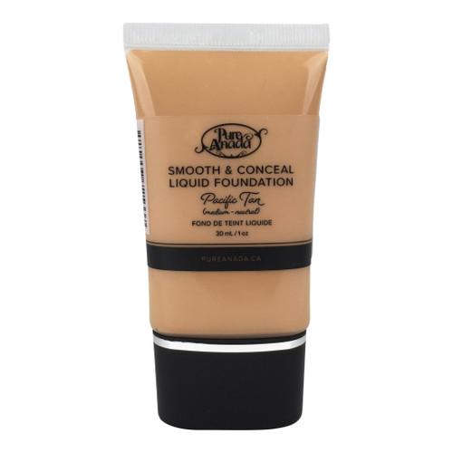 Pure Anada Smooth & Conceal Liquid Foundation Pacific Tan