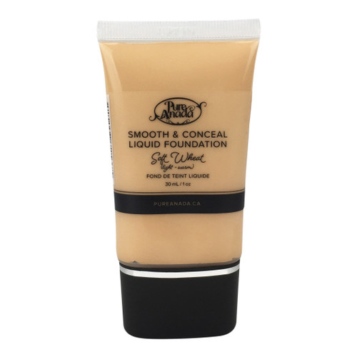 Pure Anada Smooth & Conceal Liquid Foundation Soft Wheat